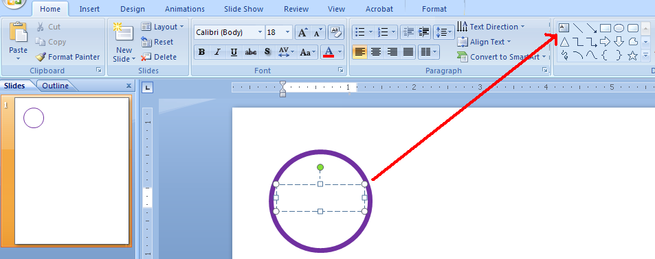 how to add a tag in a word document