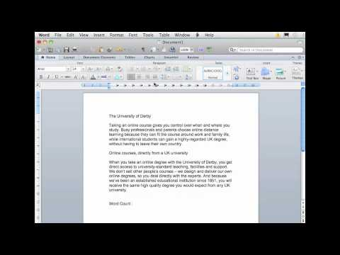 how to add an appendix to a word document