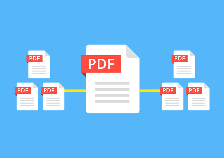 how to append pdf files into one document