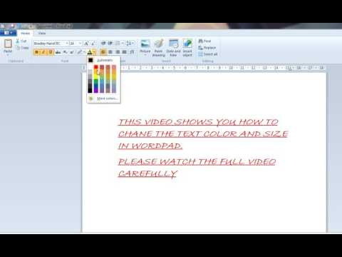 how to change font size in word document