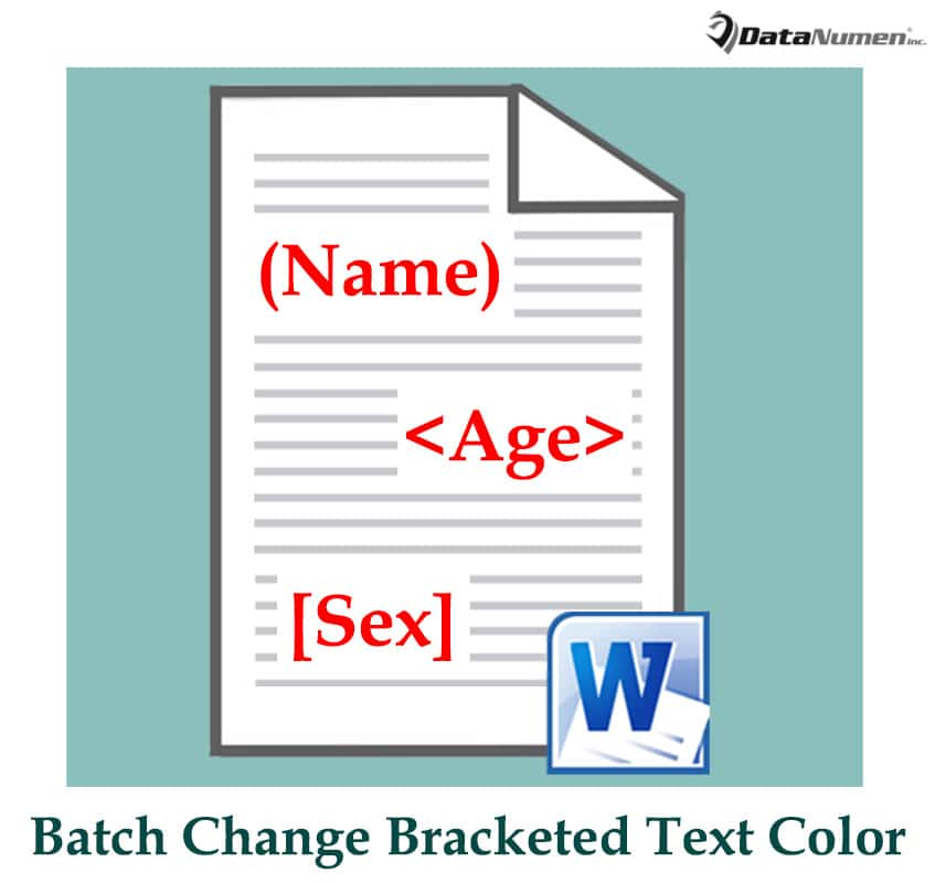 how to change the colour of your document files