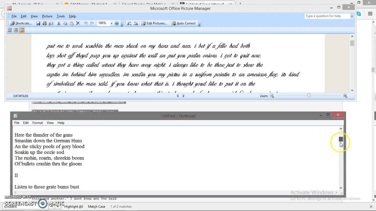 how to convert a notepad document to word