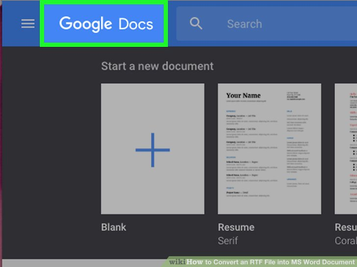 how to copy a word document into google docs