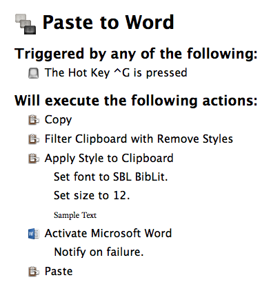 how to copy and paste a word document