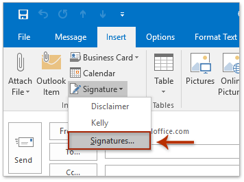 how to insert a signature into a pdf document