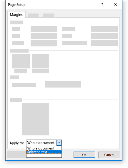 how to insert landscape page in portrait document word 2016