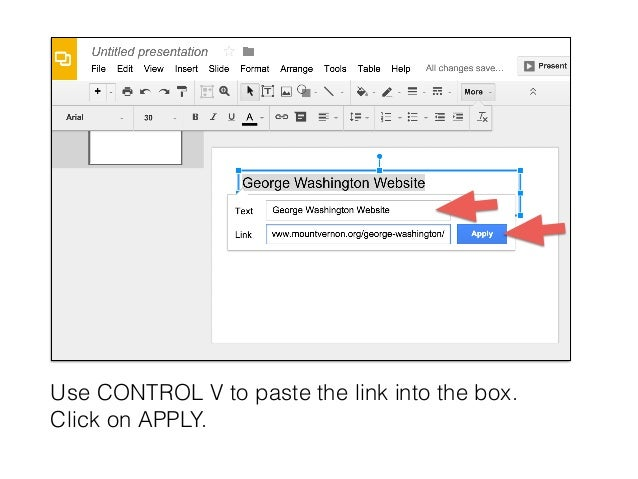 how to make a document into a link