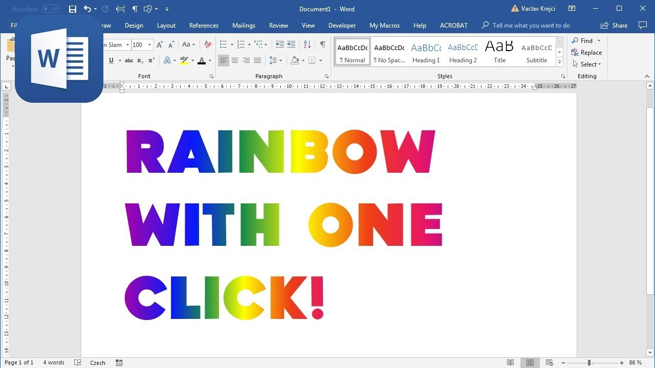 how to make changes in word document