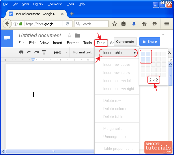 how to make google document public