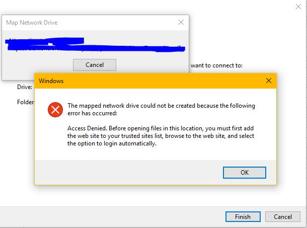 how to map a network drive to sharepoint document library