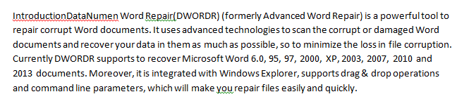 how to merge word files into one document