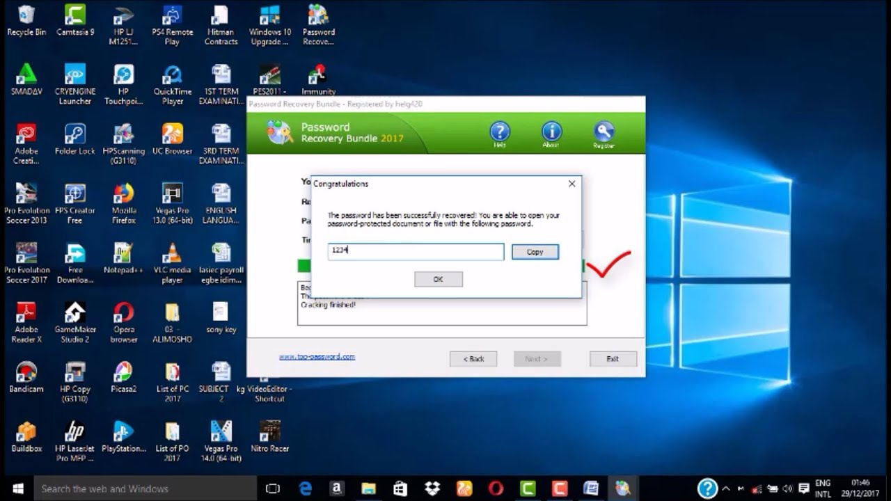 how to recover a password protected word document