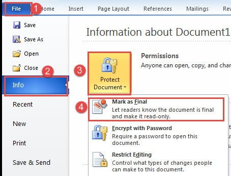 how to recover older versions of a word document