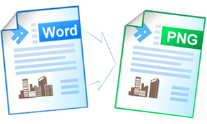 how to save a word document as jpg or png