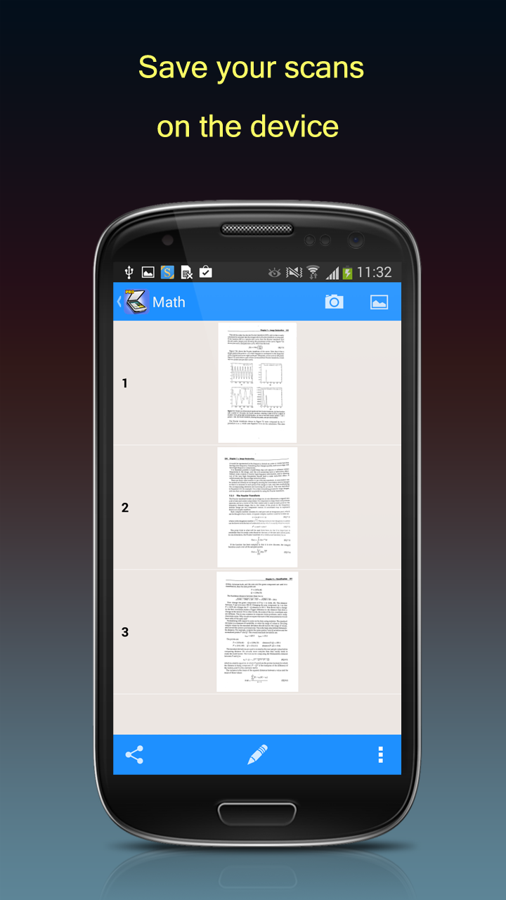 how to scan a document and email as pdf