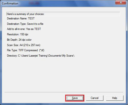 how to scan a document in wi7