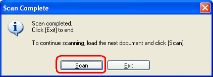 how to scan a document with multiple pages into pdf