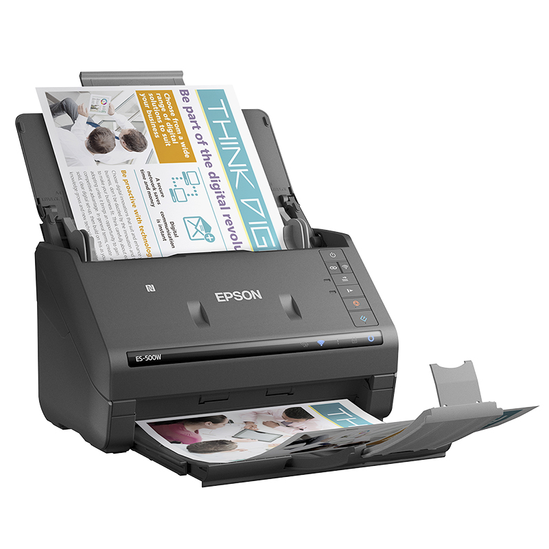 how to scan and email a document with epson printer