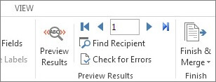 how to send email with word document preview