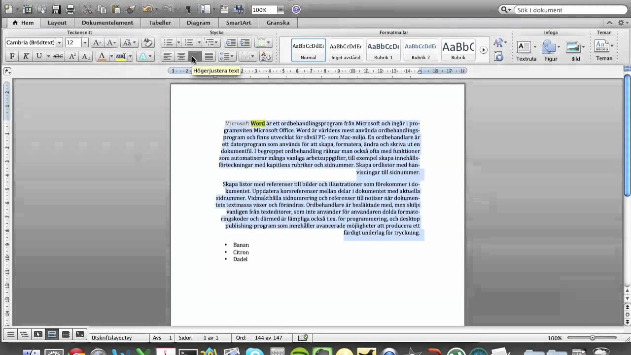 how to sign a word document on mac