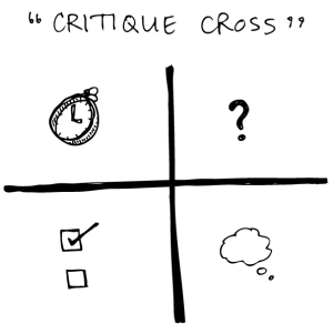 how to split a word document into 4 quadrants