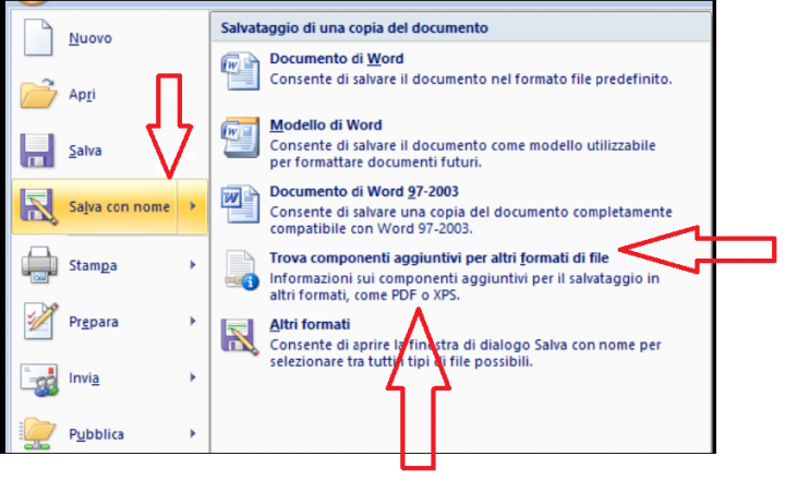 how to turn word document into pdf office 2007