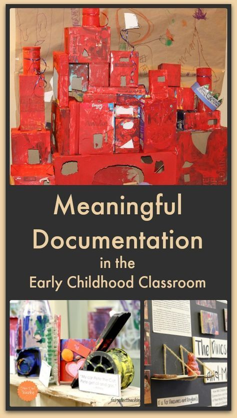 importance of documentation in reggio emilia