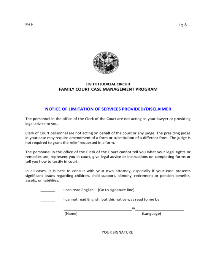 is a notarized document legal for child custody