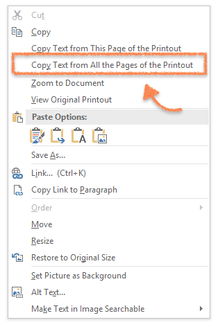is it possible to edit a scanned document