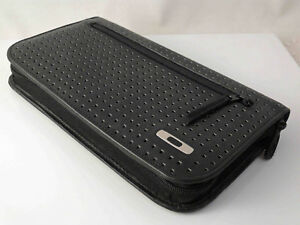 leather travel document wallet nz