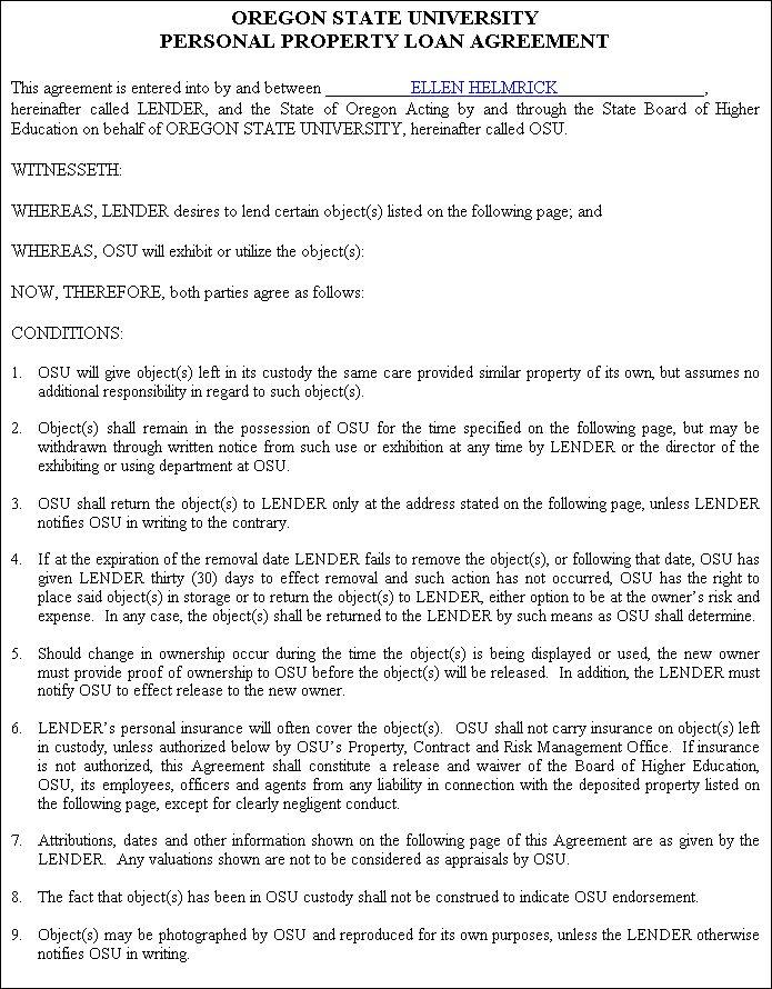 legal document for lending money in india