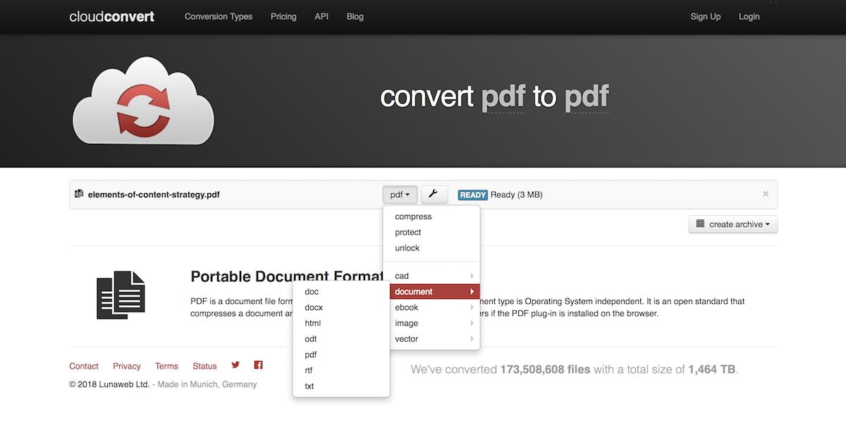 make pdf files into one document