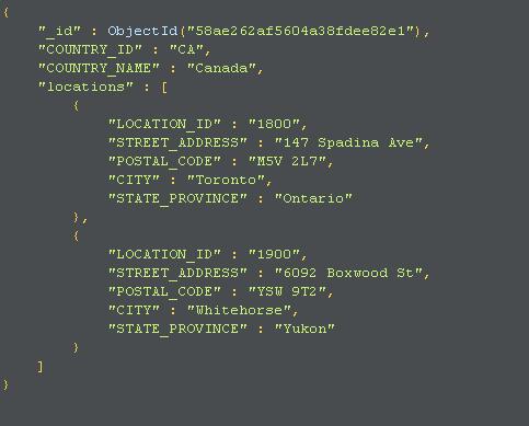 mongodb add document to array