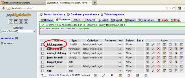 mysql said documentation 1062 duplicate entry 1 for key primary