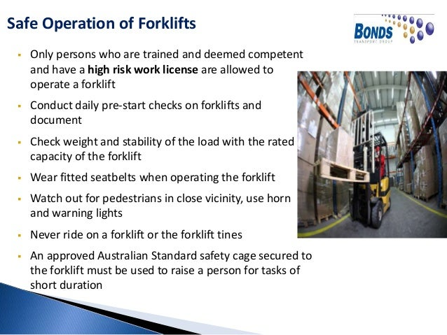 nsw forklift licence safety document nsw