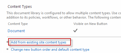 office 365 document library folder properties