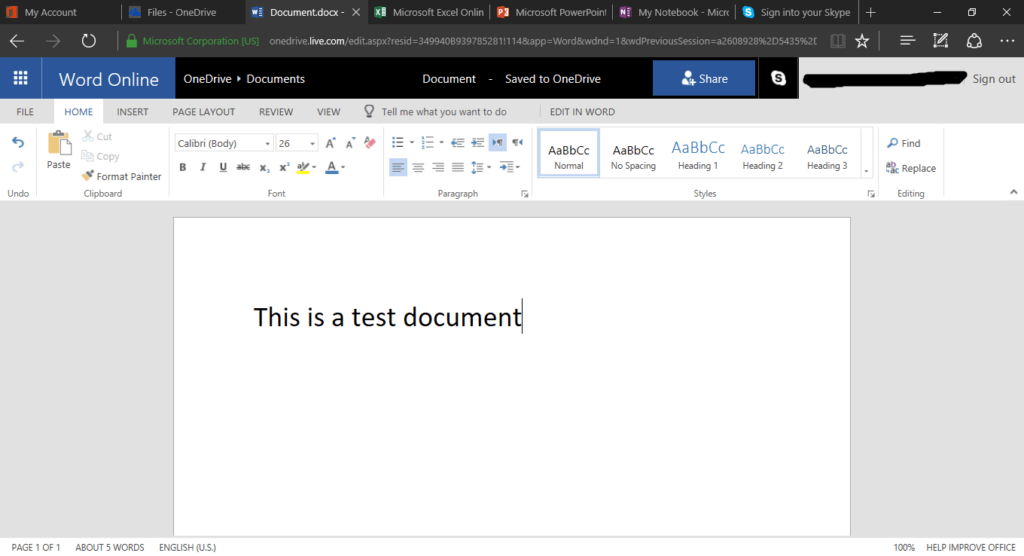 onedrive two versions of same document saved