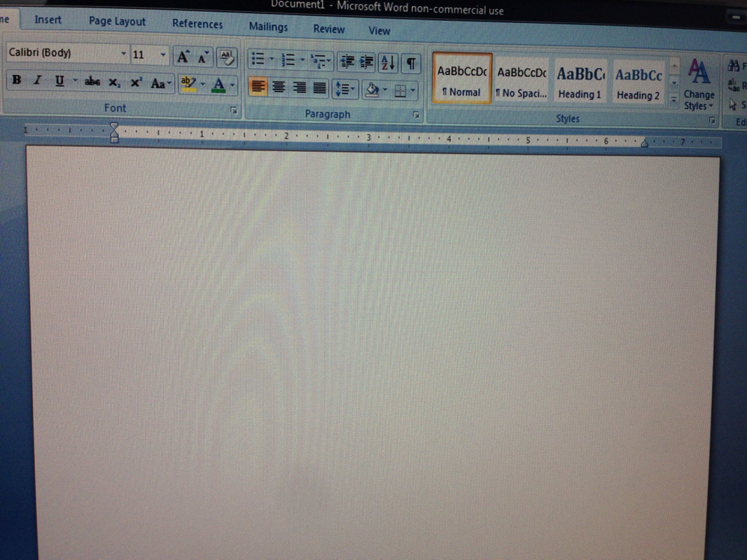 open blank word document directly