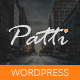 patti wordpress theme documentation