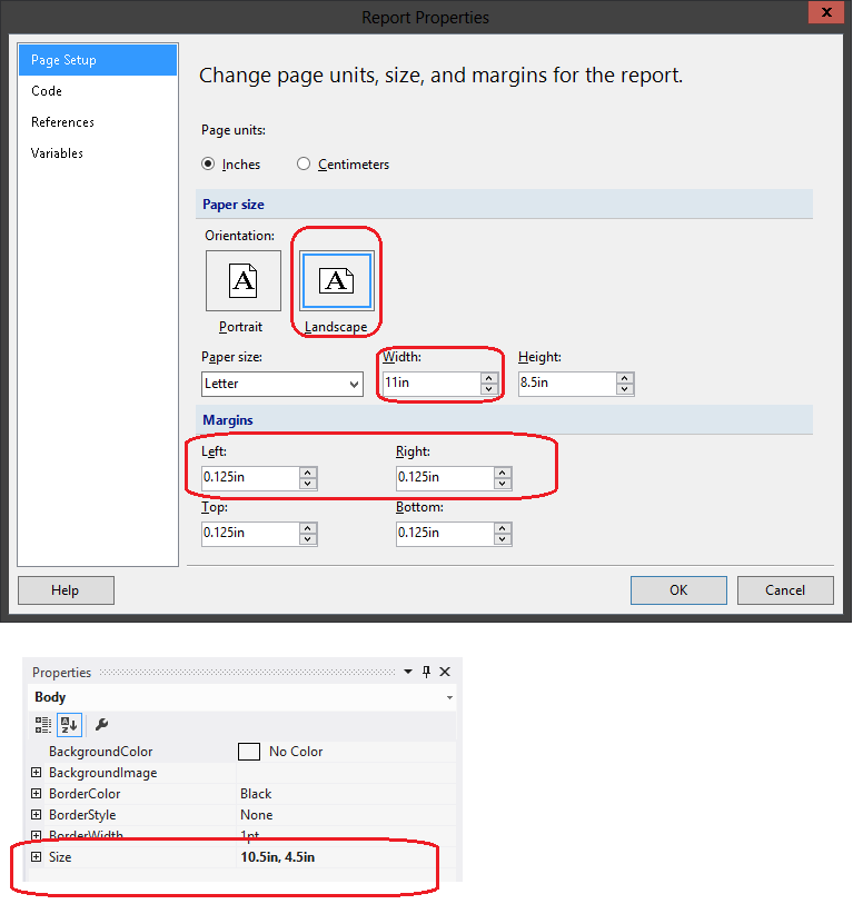 pdf document not printing landscape