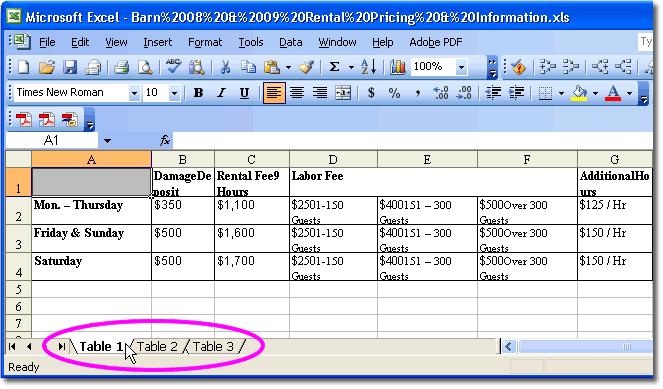 pdf to excel document converter