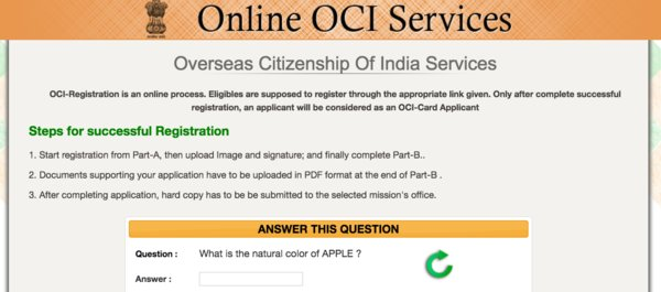 pio to oci document checklist india