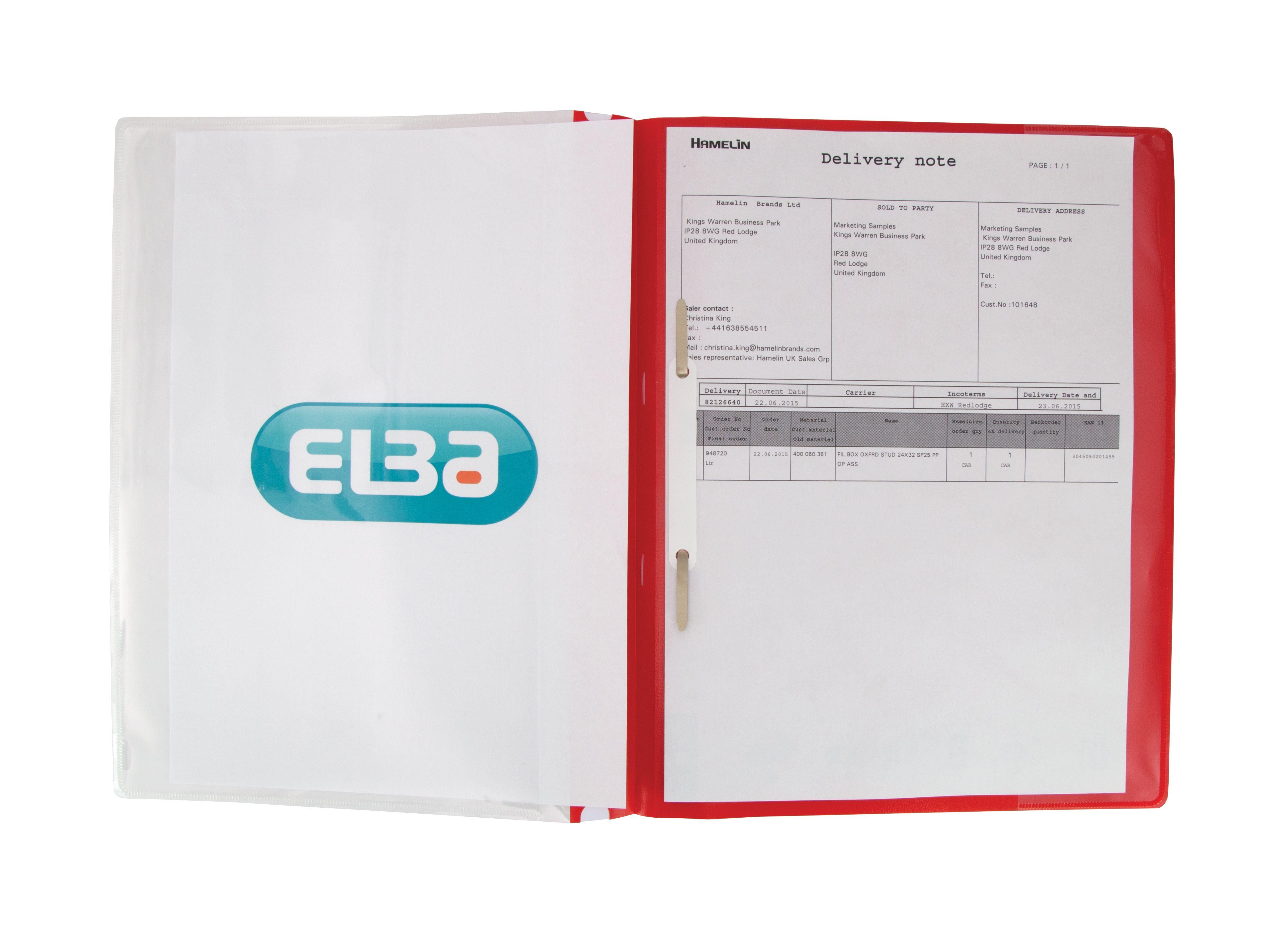 protex document pockets translucent a4