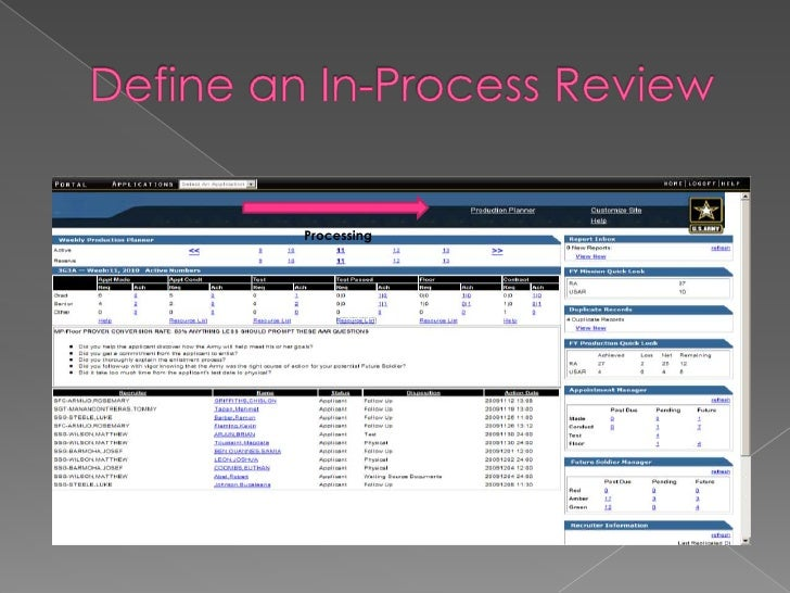 referral documentation requirements review of process etc