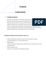 resort reservation and billing system documentation