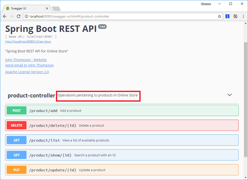 rest api documentation pdf