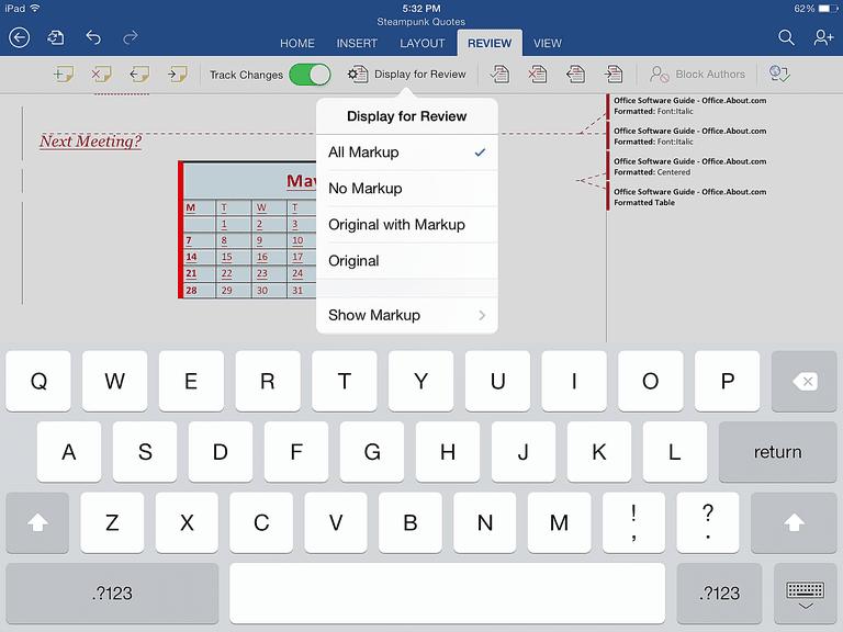 restore previous word document version