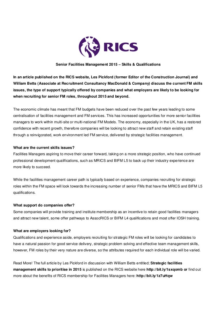 rics professional experience route submission documentation