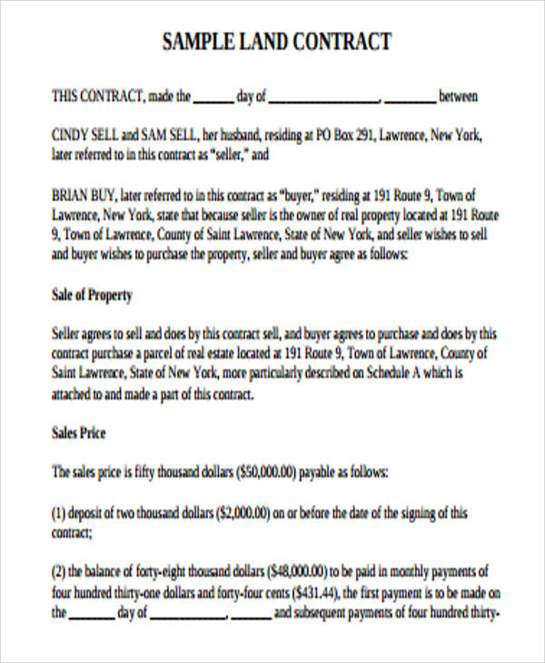 sample land lease agreement word document