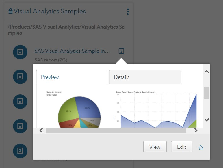 sas visual analytics documentation